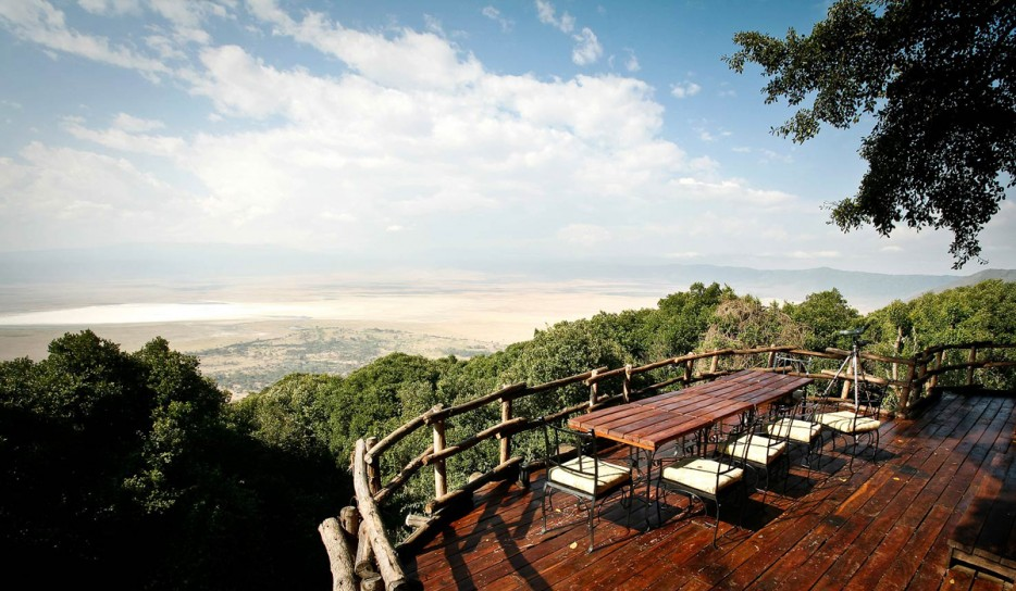 Crater Lodge at Ngorongoro Conservation Area