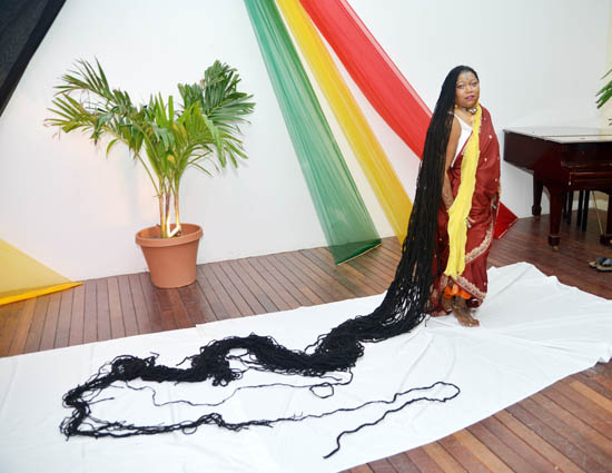 We all love our hair, but absolutely not as much as Asha Mandela, the Guiness World Record's holder of the woman with the longest hair in the world.