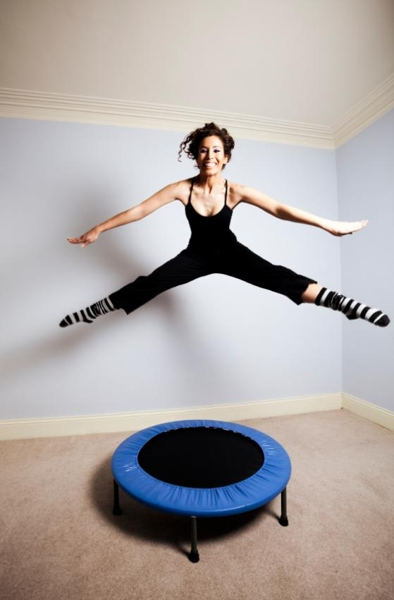 nonstop jumping can keep your heart rate up at all times!