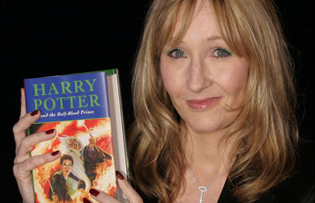 J.K. Rowling earns $8 per second