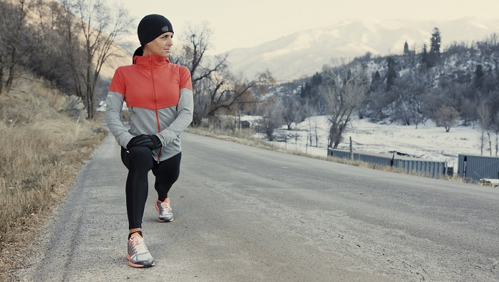 When exercising, put on more layers of clothes to facilitate sweating and burning more calories.