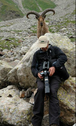 This wildlife photographer.