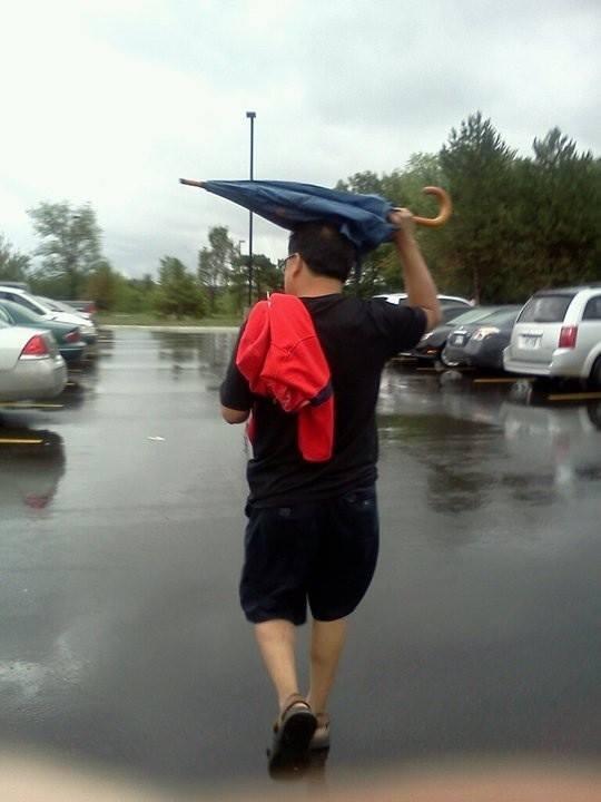 Bro.. It's an umbrella!!