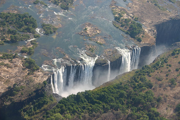 Devil's Pool at Victoria Falls