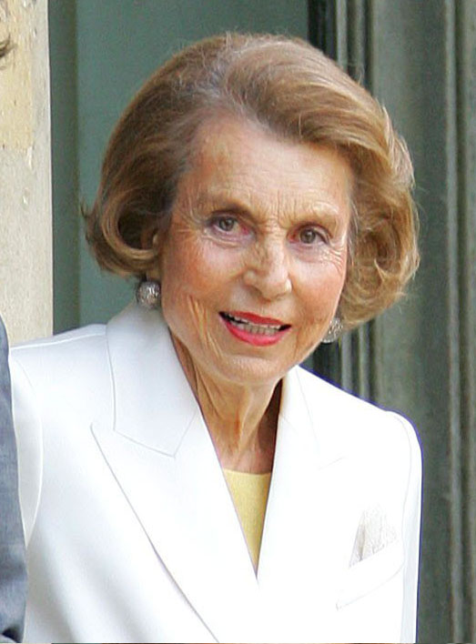 Today, she is the owner of Lo'real and the richest person in France.