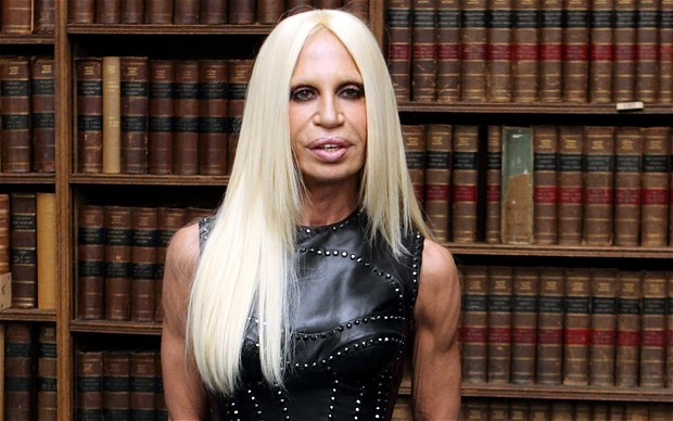 One of the biggest fashion designers today, Donatella is all about redefined style.