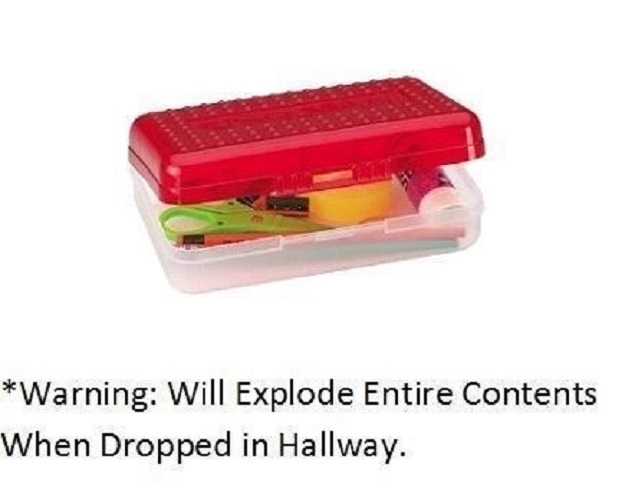 The first time you dropped one of these and it exploded all over the place