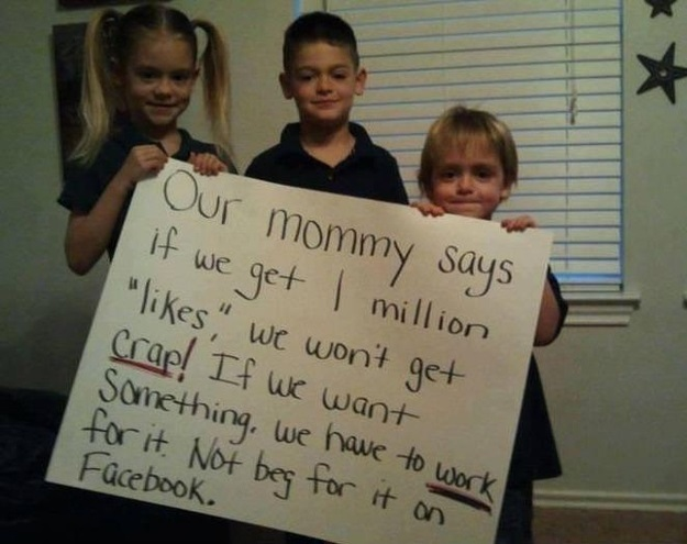 This mom who is teaching her kids to use social media responsibly.
