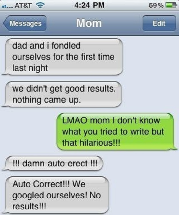 Autocorrect is really a b*tch sometimes!