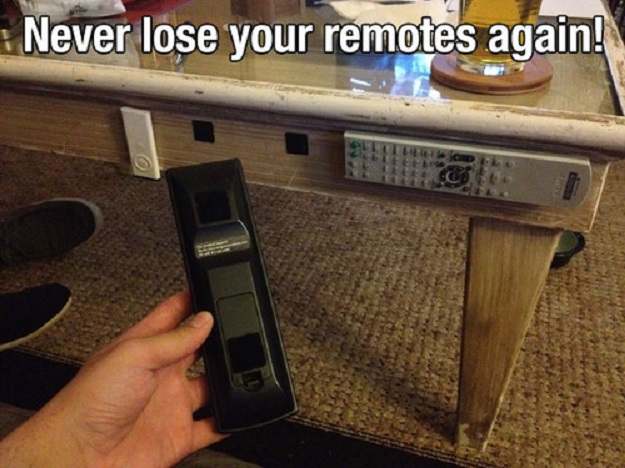 Never lose your remotes again.