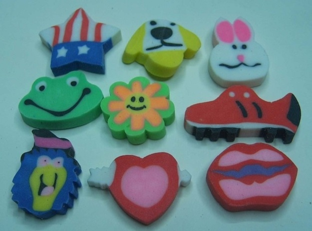The first time you realized that these are simultaneously the coolest and least functional erasers ever