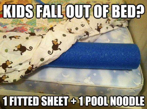 Kids fall out of bed?