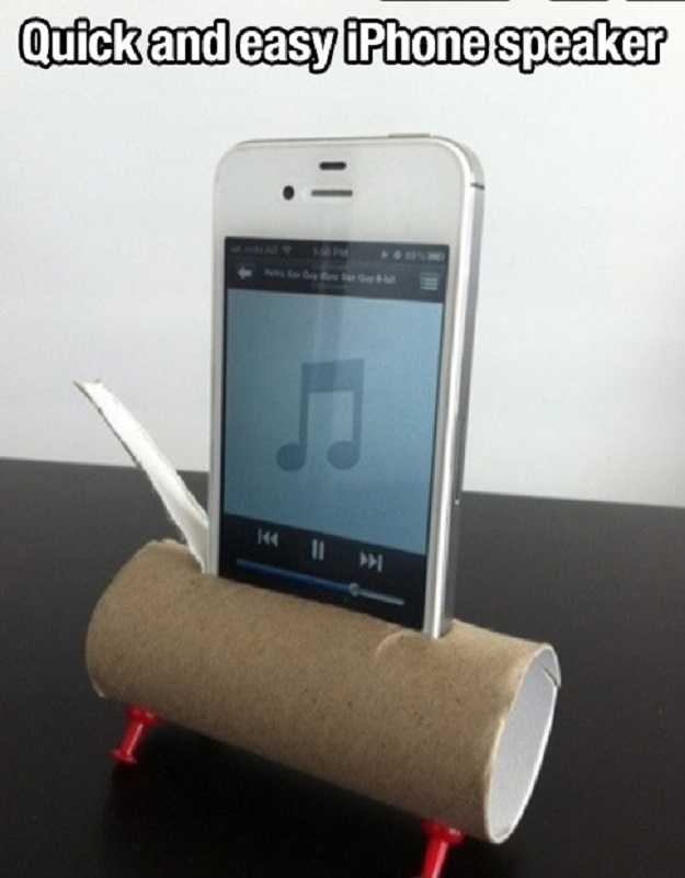 Quick and easy iPhone speaker.