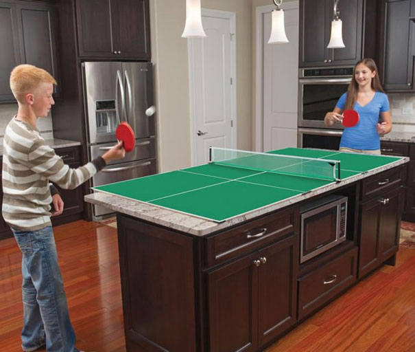 Kitchen Table Tennis