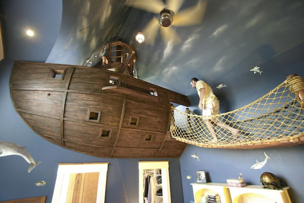 Pirate Ship Bedroom 1