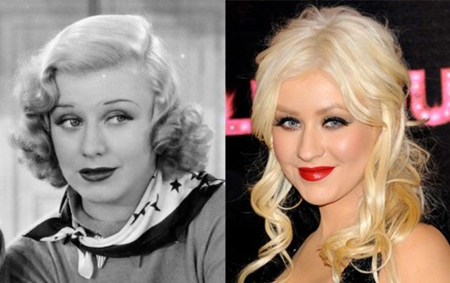 Ginger Rogers and Christina Aguilera