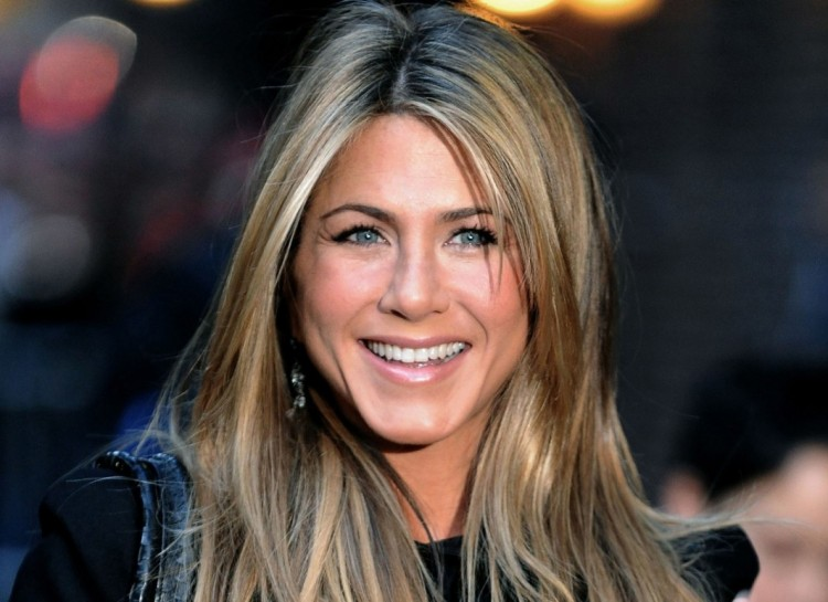 "45 year old actress Jennifer Aniston doesn't just look great ""for her age"". She looks great. Period."