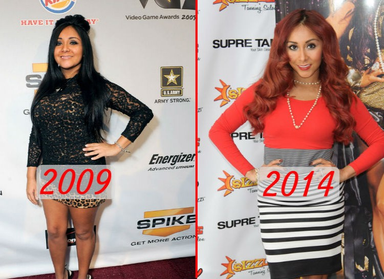 "In 2009, the world met Snooki, the self-described ""meatball"" that loved to party on the MTV series ""Jersey Shore."" Despite her wild antics on the show, the Snooki of today has given up the party lifestyle to be a mother to her son. She has also acquired an interest in fitness and healthy living that has given her a much slimmer body."