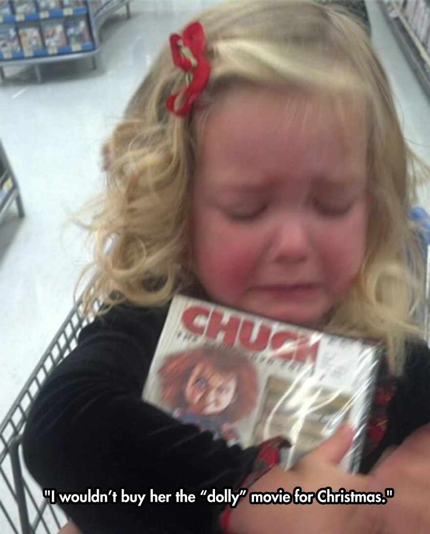 """I wouldn't buy her the """"dolly"""" movie for Christmas."""