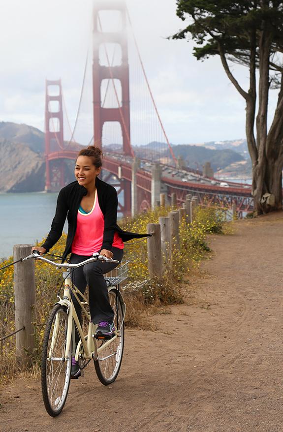 Doing something active outdoors (e.g. bike ride, run, country walk)