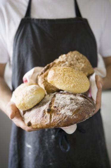 Freshly made bread