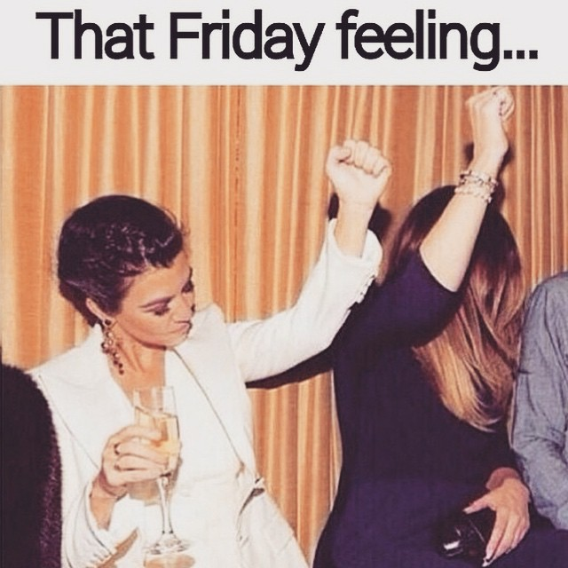 That 'Friday feeling'
