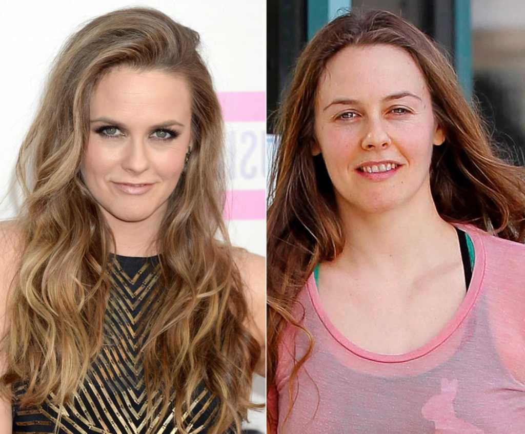 Alicia Silverstone photowithout makeup