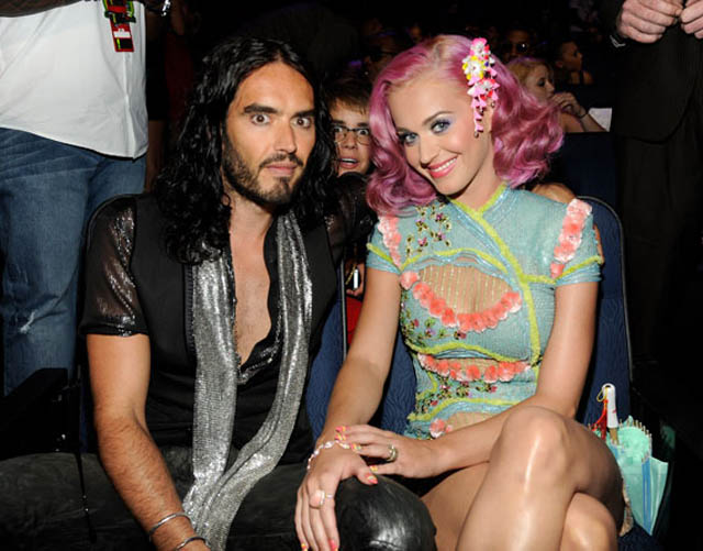 Russell Brand, Justin Bieber, Katy Perry