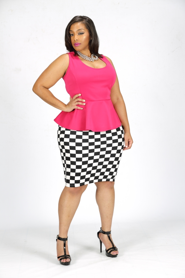 Batch 1- Bust It Open- Plus Size Models are What's Sizzling Today- Shanda Ferguson