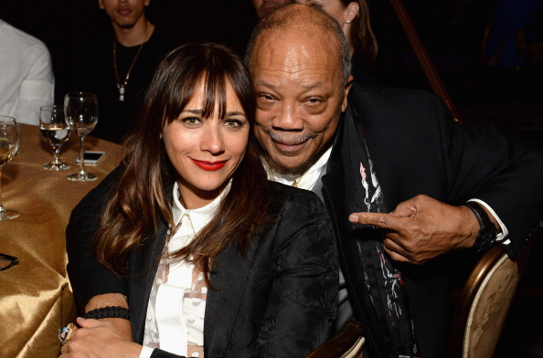 Quincy & Rashida Jones