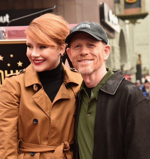 Ron Howard & Bryce Dallas Howard