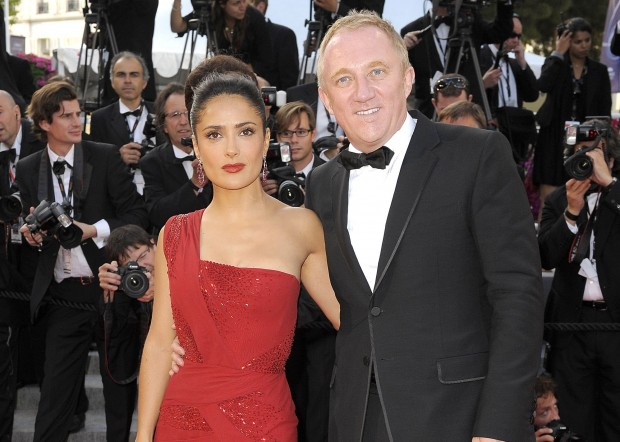 Batch 2- 15 Wives and Girlfriends Of The Richest Men In The World- Salma Hayek