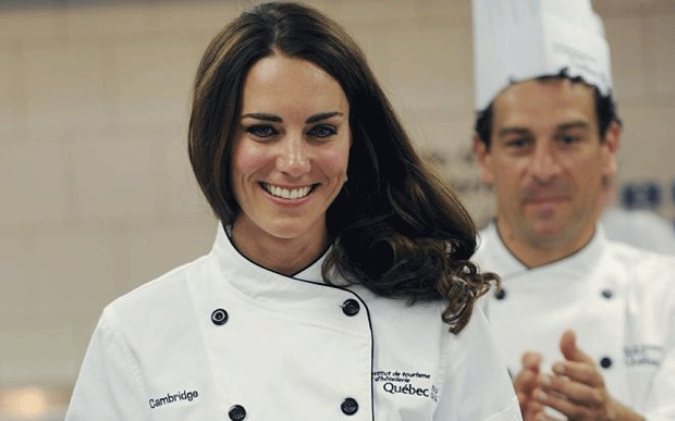 Batch 2- 19 Secrets about Catherine Duchess of Cambridge- She Loves the Kitchen
