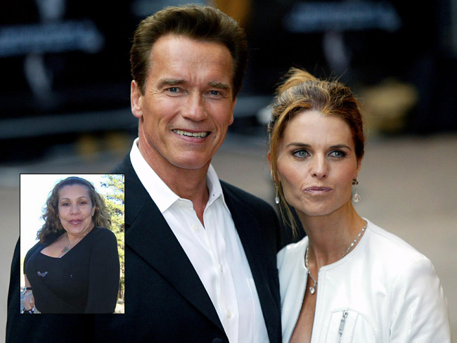 Batch 2- 21 Outrageous Celebrity Cheating Scandals- Arnold Scwarzenegger-Maria Shriver