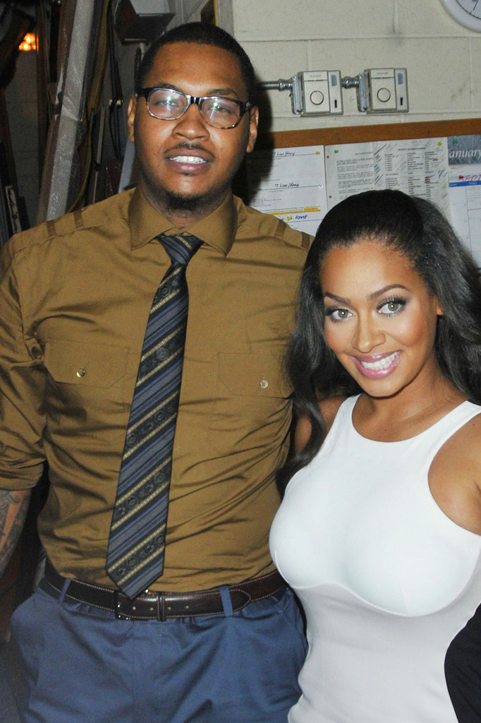 Batch 2- 21 Outrageous Celebrity Cheating Scandals- Carmelo Anthony-LaLa Vasquez