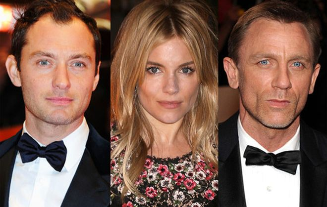Batch 2- 21 Outrageous Celebrity Cheating Scandals- Jude Law-Sienna Miller