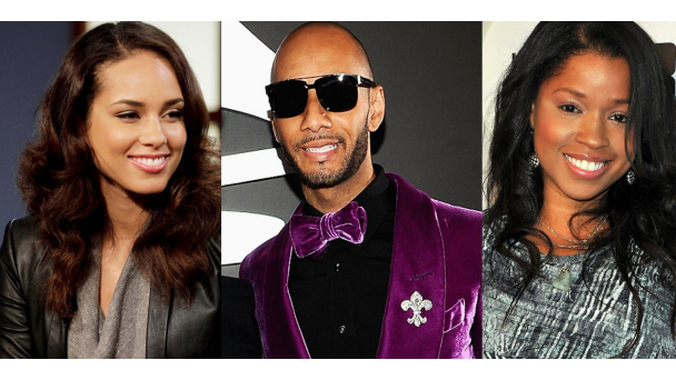 Batch 2- 21 Outrageous Celebrity Cheating Scandals- Swizz Beatz-Mashonda-Alicia Keys