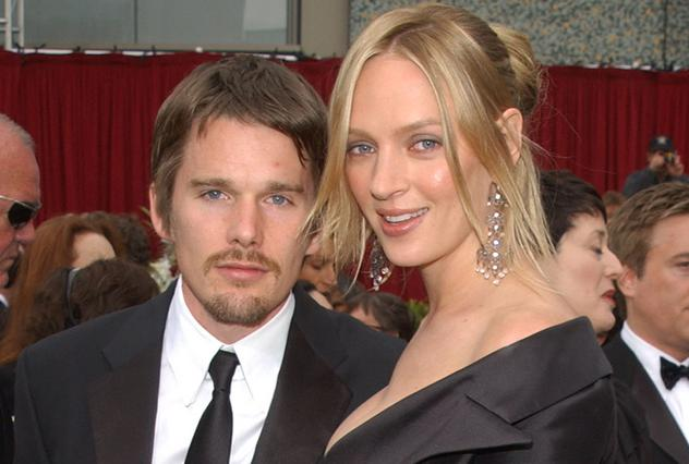 Batch 2- 21 Outrageous Celebrity Cheating Scandals- Uma Thurman-Ethan Hawke