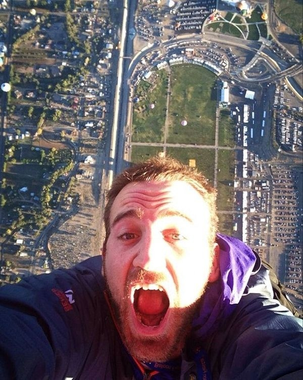 Batch 3- Extreme Selfies Taken By Everyday Individuals- Descending from the Skies