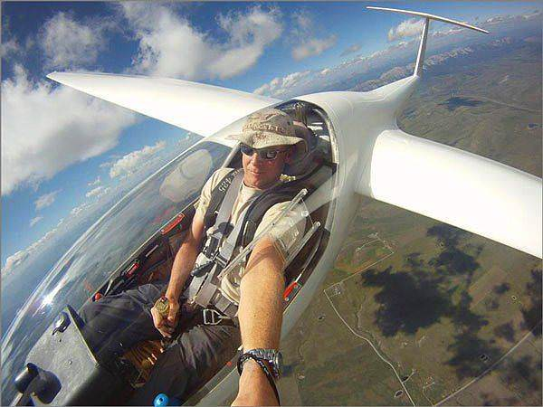 Batch 3- Extreme Selfies Taken By Everyday Individuals- Flying on an Engine-less Plane