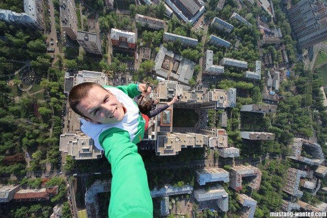 Batch 3- Extreme Selfies Taken By Everyday Individuals- Landing on a Building