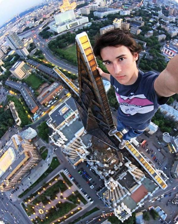 Batch 3- Extreme Selfies Taken By Everyday Individuals- Scaling Down the Building