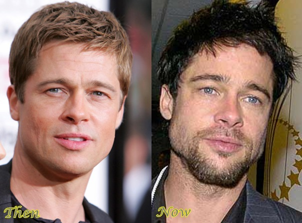 Batch 3- Stars Who Failed to Age Gracefully- Brad Pitt
