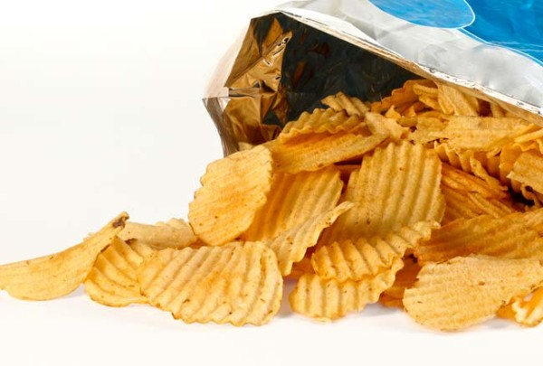 Potato chips - Cancer-causing foods