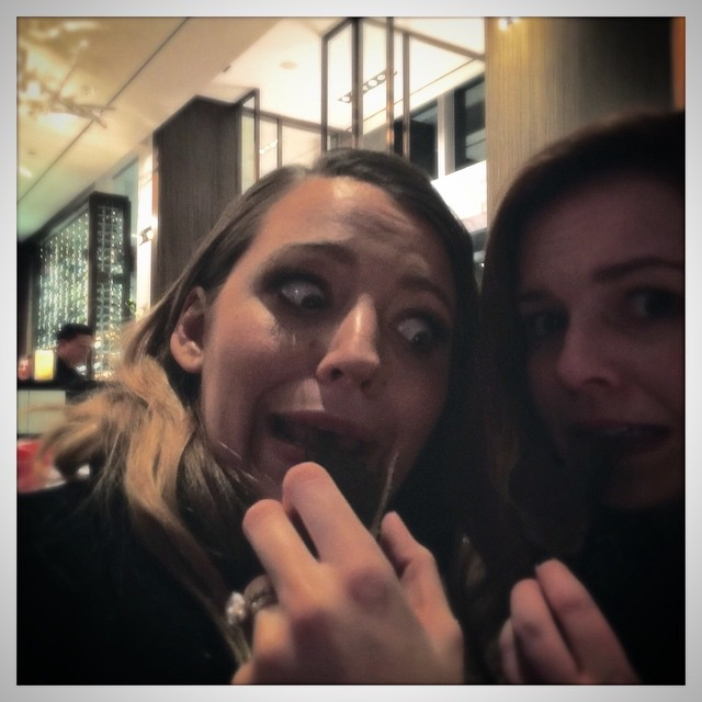 Batch 4- Selfie Mania- 15 Celebrities Who Did It Wrong- Blake Lively and Amber Tamblyn