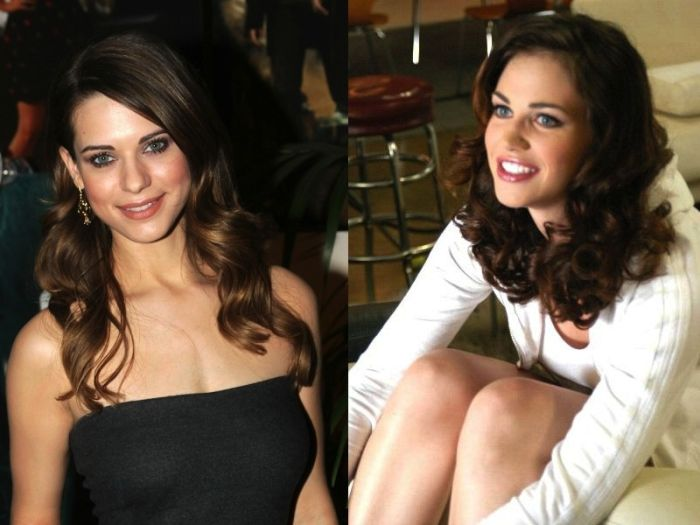 Lyndsy Fonseca and Faith Leon - Celebrity Twinnies