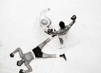 Muhammad Ali knockout photo