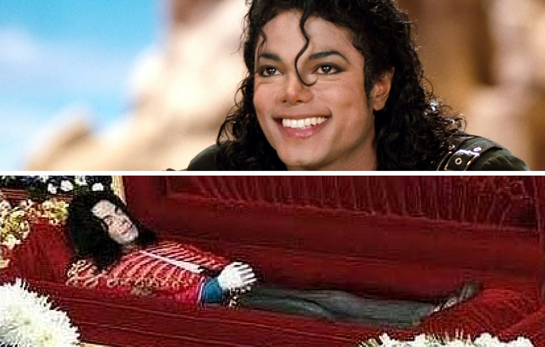 12 Haunting Funeral Photos of Dead Celebrities