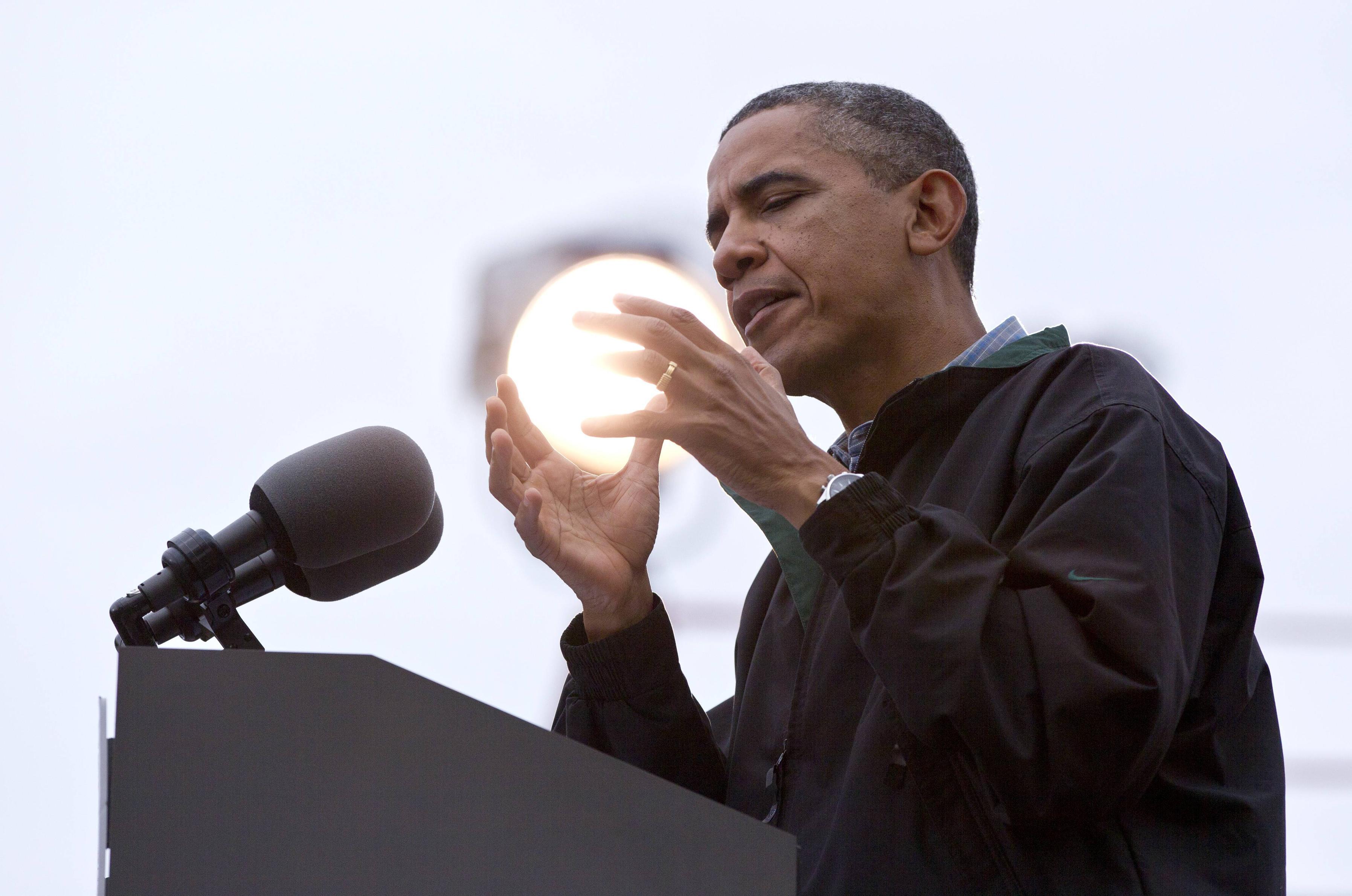 obama's light