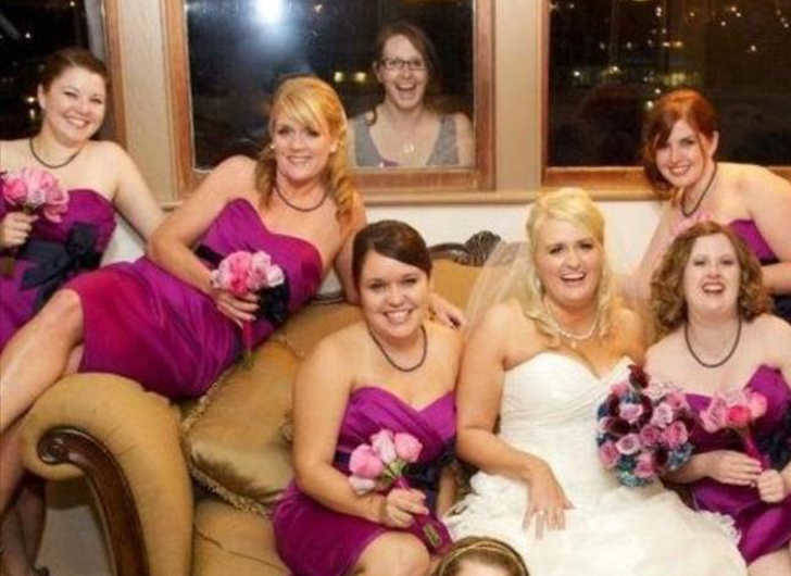 Nobody invited you Jan - Wedding Photo Fail